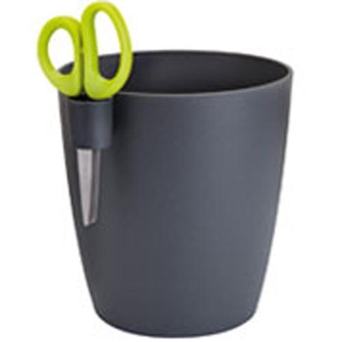 aromate pot anthracite simple pour basilic menthe etc. Black Bedroom Furniture Sets. Home Design Ideas