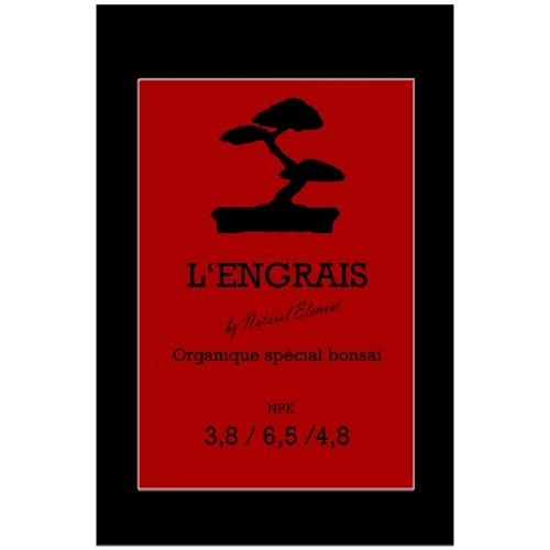 Extérieur - Engrais organique spécial bonsaï d'extérieur - 100 grammes