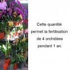 Pack 2 engrais organiques spécial orchidée